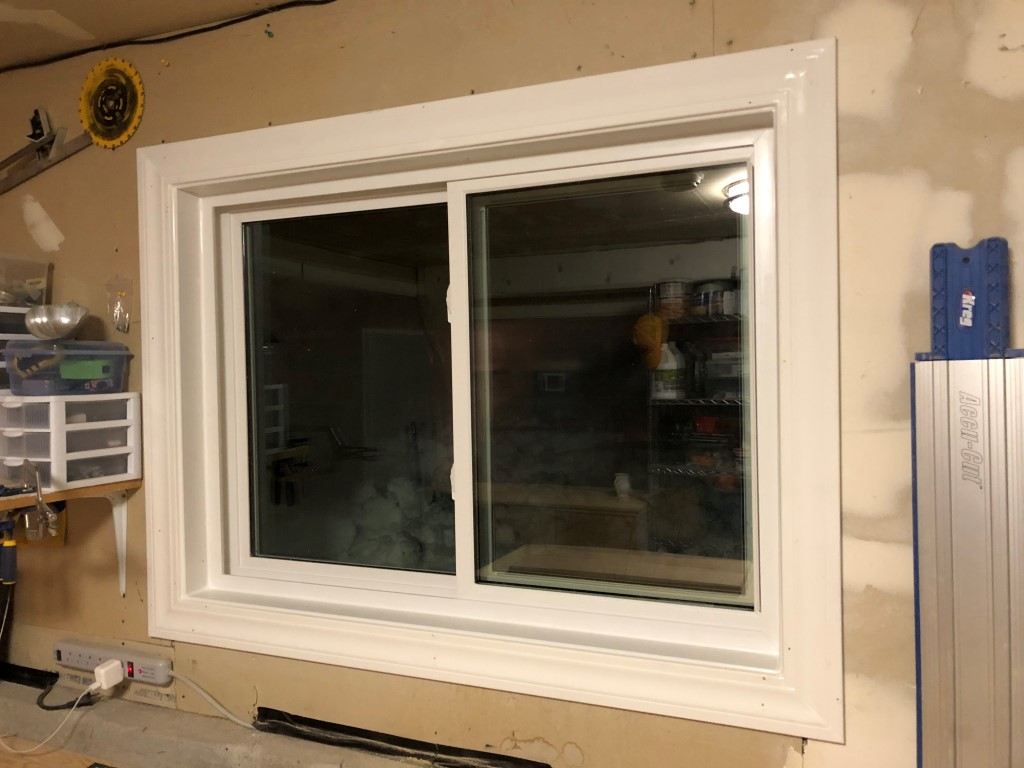 Windows before and after